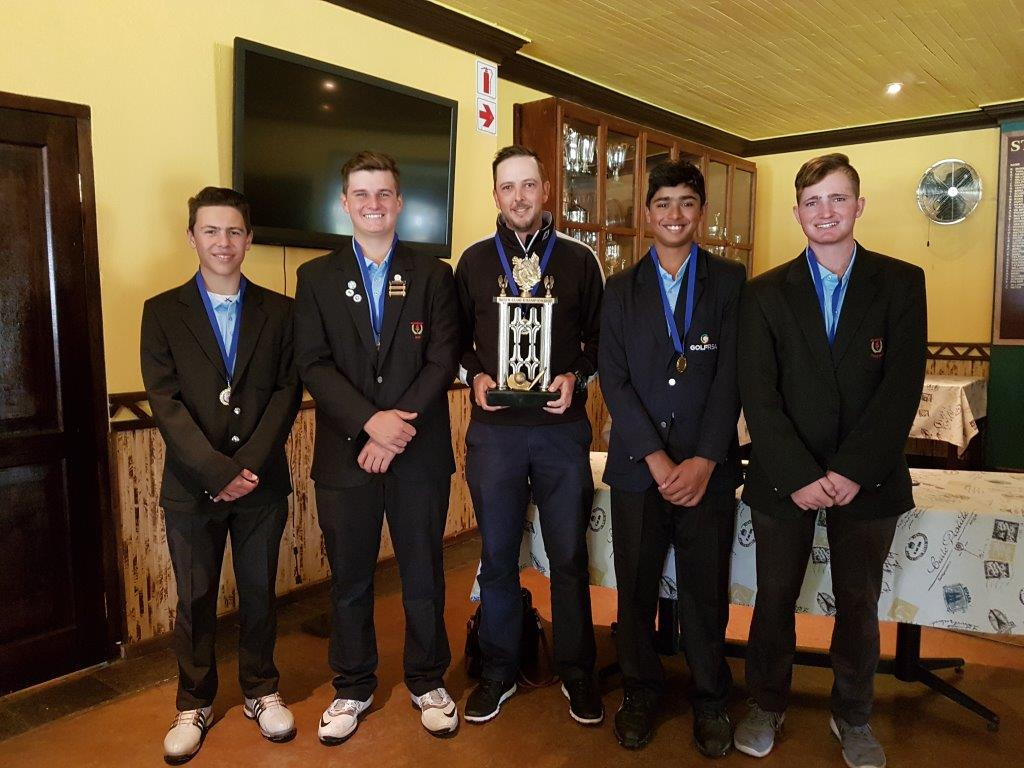 INTER-CLUB WINNER - GLENDOWER GC TEAM